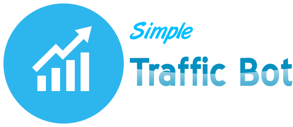 Simple Traffic Bot - UNLIMITED FREE Traffic to your website Logo